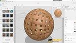 استفاده از متریال ها آماده در نرم افزار ادوبی دایمنشن سی سی 2018 (Adobe Dimension CC 2018)
