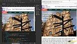 تست (Test) فایل ها در مرورگر (Browser) در نرم افزار ادوبی دریم ویور سی سی 2018 (Adobe Dreamweaver cc 2018)