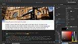آشنایی با سبک متن (Styling text) در نرم افزار ادوبی دریم ویور سی سی 2018 (Adobe Dreamweaver cc 2018)