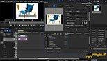 نحوه استفاده از تکنیک تصویر در تصویر Layouter Settings/Picture in Picture در نرم افزار ادیوس پرو (EDIUS Pro 9)