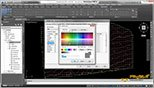 ویرایش رنگ و ضخامت خطوط منحنی های میزان اصلی و فرعی نقشه توپوگرافی در نرم افزار سیویل تری دی 2018 (Civil 3D 2018)