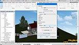 پس زمینه Background از سربرگ صفحه نمایش گرافیکی Graphic Display Option در نرم افزار اتودسک رویت معماری آرکیتکچر 2018 (Autodesk Revit 2018)
