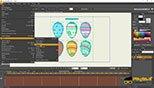 وارد نمودن فایل های مختلف به نرم افزار با استفاده از فرمان Import نرم افزار موهو انیمه استودیو 12 (Smith Micro Moho Pro 12 )
