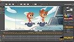 سفارشی سازی و تغییر رنگ محیط کاری نرم افزار موهو انیمه استودیو 12 (Smith Micro Moho Pro 12 )