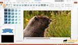 تنظیمات سربرگ Format سربرگ وابسته Video Tools پاورپوینت 2016