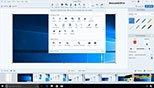 تغییر، جابه جایی و حذف ابزار در صفحه Snagit Editor در برنامه اسنگیت