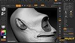 استفاده از نویز سطحی در نرم افزار زیبراش (Pixologic ZBrush 4R8)