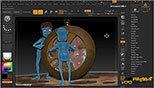 استفاده از  FiberMesh در نرم افزار زیبراش (Pixologic ZBrush 4R8)