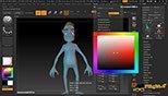 نورپردازی و رندرینگ در نرم افزار زیبراش (Pixologic ZBrush 4R8)