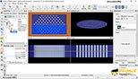 مشاهده مدهای محاسبه شده با استفاده از visualizer در نرم افزار Mode solutions