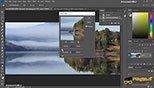 فیلتر پرکاربرد  blur در فتوشاپ photoshop