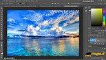 فیلتر های  displace – pinch – polar در فتوشاپ photoshop