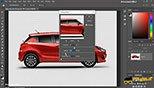 فیلتر های  sharpen more / smart sharpen /unsharp mask از بخش فیلتر sharpen در فتوشاپ photoshop