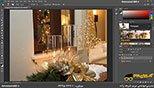 کار با ابزار Sharpen Tools در نرم افزار فتوشاپ معماری Photoshop
