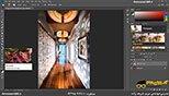 تیره کردن تصاویر در نرم افزار فتوشاپ معماری Photoshop