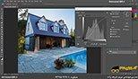کار با اصلاح رنگ Curves در نرم افزار فتوشاپ معماری Photoshop
