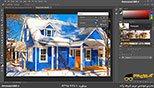 اشباع رنگ ها در نرم افزار فتوشاپ معماری Photoshop