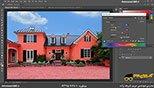 تنظیمات رنگ ها و تغییر رنگ درخت در نرم افزار فتوشاپ معماری Photoshop