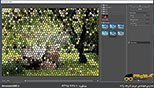 گالری فیلترها در نرم افزار فتوشاپ معماری Photoshop