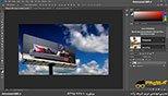قراردادن تصوی برروی تابلو در نرم افزار فتوشاپ معماری Photoshop