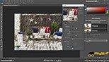 فیلتر oil paint  در نرم افزار فتوشاپ معماری Photoshop