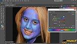 اصلاح مویرگ ها و حذف قرمزی های پوست ناشی از لک و جوش در فتوشاپ عکاسی photoshop