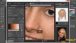 روتوش پوست با حفظ بافت به وسیله پلاگین Portrature در فتوشاپ عکاسی photoshop