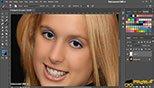 اضافه کردن سایه پشت چشم ها در فتوشاپ عکاسی photoshop