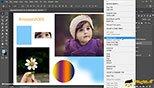 تبدیل لایه های دارای نوع به لایه معمولی Rasterize در فتوشاپ عکاسی  photoshop