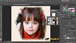 حاشیه سازی با استفاده از فیلترهای Sprayed Strokes and Spatter در نرم افزار فتوشاپ