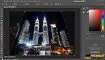 اصلاح پرسپکتیو تصاویر با ابزار Perspective Crop Tool فتوشاپ