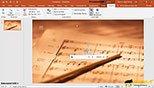 ضبط کردن یک فایل صوتی در نرم افزار پاورپوینت 2019-  PowerPoint 2019