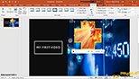 وارد کردن فایل ویدئویی در نرم افزار پاورپوینت 2019-  PowerPoint 2019
