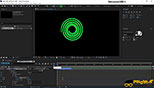 اعمال کردن Twist به Shape در نرم افزار افترافکت Adobe After Effects CC