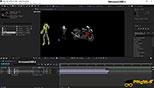 چرخش (Rotation) و حرکت دادن فایل (Transform) در محیط سه بعدی (3D) نرم افزار افترافکت Adobe After Effects CC