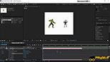 دوربین دو نقطه ای (Two-Node Camera) در نرم افزار افترافکت Adobe After Effects CC
