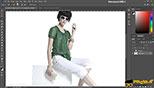 ابزار Magic Wand وQuick Selection در طراحی مد و فشن و لباس فتوشاپ Photoshop for Fashion Design