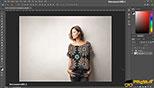 ابزار انتخاب Lasso در طراحی مد و فشن و لباس فتوشاپ Photoshop for Fashion Design