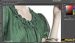 ابزار Pen در طراحی مد و فشن و لباس فتوشاپ Photoshop for Fashion Design