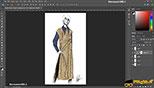 مدهای رنگی blend modes در طراحی مد و فشن و لباس فتوشاپ Photoshop for Fashion Design