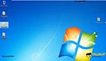 نحوه چیدمان آیکون ها و عناصر در میز کار در ویندوز 7 Windows 7