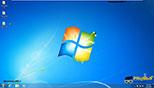 تغییر مکان آیکون ها و آیتم ها در میزکار در ویندوز 7 Windows 7