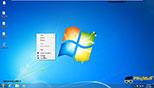 تنظیمات مربوط به نمایش و مخفی کردن آیکون ها و آیتم ها در میز کار ویندوز 7 Windows 7