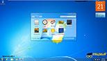 آشنایی با گجت ها (فعال کردن با کنترل پنل) در ویندوز 7 Windows 7