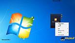 آشنایی با گجت (CPU meter, Currency, FeedHeadlines) در ویندوز 7 Windows 7