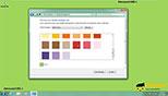 استفاده از solid colors برای پس زمینه در ویندوز 7 Windows 7