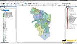 نمادگذاری(Symbology) بخش چهارم ,Dot density,Charts,Multiple Attributes در نرم افزار GIS Arc