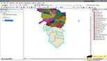 ذخیره نمودن قسمتی از یک نقشه به عنوان لایه جدید وکتوری در نرم افزار GIS Arc