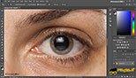 تکنیک روتوش یا ریتاچ Retouching حذف رگ های قرمز از چشم ها در نرم افزار ادوبی فتوشاپ سی سی 2018 (Adobe Photoshop CC 2018 v19.1.3)