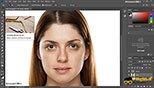 تکنیک روتوش آشنایی با تکنیک های برطرف سازی لک ها ومشکلات پوست در نرم افزار ادوبی فتوشاپ سی سی 2018 (Adobe Photoshop CC 2018 v19.1.3)
